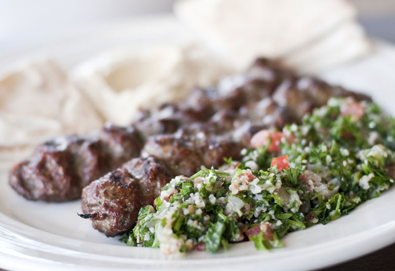 HUFFMAN'S BEEF & CRACKED-WHEAT KOFTAS