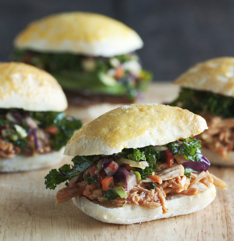 HUFFMAN'S PULLED PORK BAPS - SERVES 4-6