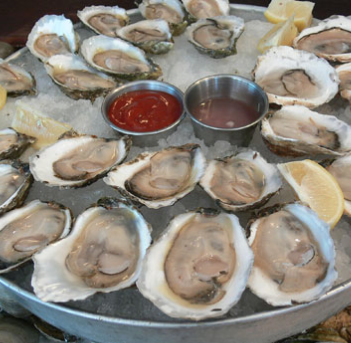 HUFFMAN'S OYSTERS AND BEER